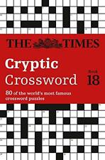 The Times Cryptic Crossword Book 18 (Crosswords), The Times Mind Games | Paperba