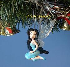 CHRISTMAS ORNAMENT TREE DISNEY TINKERBELL SILVERMIST *T4