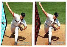 1995 SP Red & Silver ROGER CLEMENS  Boston Red Sox   (e-mtx)