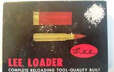 1969 Vintage LEE LOADER 30-06 Springfield Complete RELOADING TOOLS Inc. Instruc.