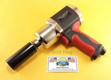 "1/2"" Air Impact Wrench Twin Hammer 1,000 FT LBS Lifetime Warranty DrillHog USA"