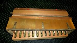 13-note Sub-Bass Assembly for Reed  Parlor  Organ