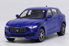 Welly 1:24 Maserati Levante Blue Diecast Model Car Vehicle New in Box