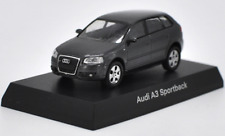 Kyosho 1/64 Alloy car model,Audi A3 Sportback Collect gifts Red and Gray