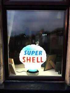 LED Lamp Base for Gas Pump Globes Petrol Globe Extra Large lamp base Full Size