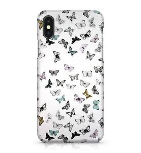 Multi Coloured Fluttering Flying Winged Butterflies Pattern Phone Case Cover