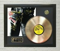 """Rolling Stones Framed LP Record Reproduction Signature Display #2  """"M4"""""""