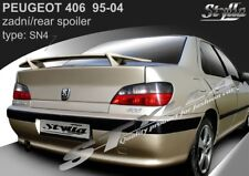 SPOILER REAR TRUNK BOOT PEUGEOT 406 WING ACCESSORIES 2 types