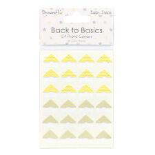 Dovecraft Back to Basics BABY Steps FOTO DECORAZIONI per angoli per le schede e artigianato