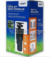 Orbit Super Jet Pop-up Impact Sprinklers Underground Sprinklers M # 55100 (NEW)