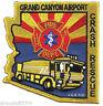 "Airport - Grand Canyon Airport  Crash - Rescue, AZ  (3.75"" x 4"" size) fire patch"