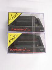 DiMarzio F-spaced D Activator X Neck & Bridge Humbucker Set Black