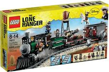 LEGO LONE RANGER CONSTITUTION TRAIN CHASE 79111 =NEW RETIRED
