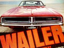 1969 DODGE CHARGER RT ORIGINAL AD-grille/440/426 Hemi V8 engine/intake manifold/