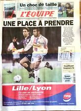 L'Equipe Journal 28/4/2001; Lille-Lyon/ Coulthard/ Toulouse-Montferrand Rugby