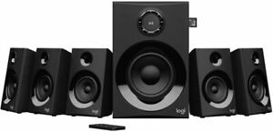 Logitech Z607 5.1 Surround Sound Speakers System (Bluetooth, RCA, 160 W Peak)
