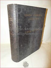 NUMISMATICA: CORPUS NUMMORUM ITALICORUM CASA SAVOIA 1910 Catalogo Monete Tavole