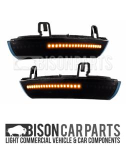 Fits VW MK5 Golf 2003 - 2012 BLACK 28 LED DYNAMIC MIRROR INDICATORS RH & LH PAIR