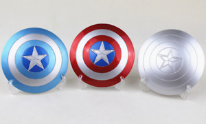 1/6 Scale Accessories Captain America Metal Shield Can Buckle Hand 3 Colors