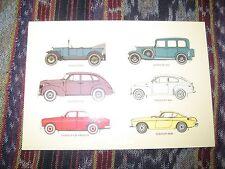 1 x Volvo Ansichtskarte - Buckel PV 444 P1800 P120 Amazon PV 60 ÖV 4 V90 XC90 60