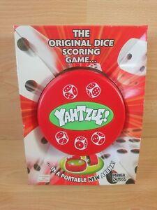 2004 Yahtzee Parker Travel Portable Retro Boxed New Dice Game