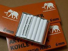 Un Pacchetto â 45 St. 6 mm BIANCO ELEPHANT Attivo Carbonio Filtro 101381