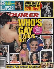 National Enquirer magazine Gay Hollywood Whitney Houston Gary Coleman Cher