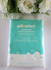 Pillowfort Waterproof Mattress Protector Twin Bed 39 x 75 x 12 Hypoallergenic