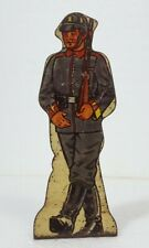 German Infantry #20 Vintage Marx Toy Lithograph Tin Army Soldier Litho Figure