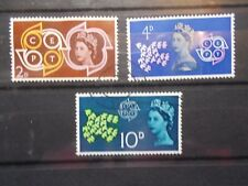 GB 1961 Commemorative Stamps~CEPT.~Fine Used Set~UK Seller