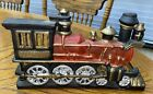 VTG  Cast Iron Locomotive Train Heavy Door Stopper Steam Engine  XW3