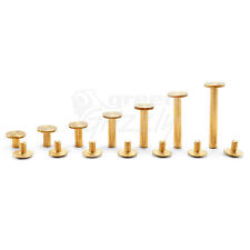 More details for belt rivets chicago screws studs nail head 6 8 10 14 18 25 29 mm binding book