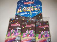 Little Debbie Cosmic Brownies with Chocolate Chip Candy