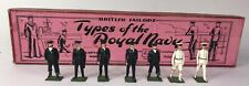 Britains Pre-War Set #1911 Officers of the Royal Navy **AA-11084**