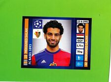 Panini 2013-14 Champions League Mohamed Salah Rookie Sticker rc