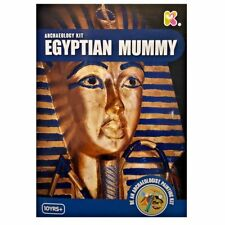 Egyptian Mummy Archaeology Dig & Painting Kit - Excavate, Discover then Decorate
