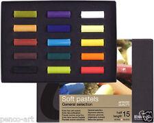 Pastel Set de 15 de media longitud Rembrandt Color Artistas Suave Tiza Pastel