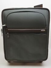 """Tumi 22061GYBOP 4-Wheel Continental Expandable 21"""" Carry-On Suitcase Green ."""