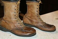 VINTAGE 70s RED WING LEATHER WORK BOOTS SIZE 7 C USA