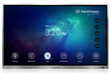 "NorthVision Visionboard A7510P 75"" 4K Interactive Touch Screen w/ OPS NEW!"