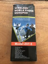 Wireless Mobile Phone Monopod Aka Selfie Stick Model Z07-5 In Box iPhone Android