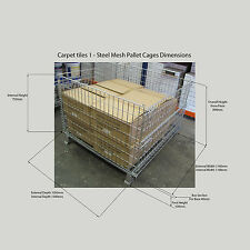 PALLET CAGES - STACKABLE - 2 CAGES FOR $396-