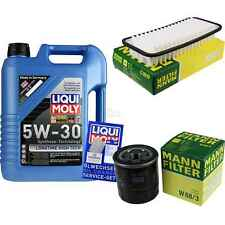 LIQUI MOLY 5L 5W-30 Motor-Öl+MANN-FILTER Filterpaket für Toyota Aygo WNB1 KGB1