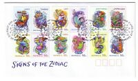 "2007 FDC. Australia. Signs of the Zodiac. PictFDI ""SUNSHINE"""