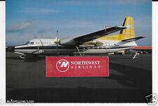 Icelandair Fokker F-27 #Tf-Fim Flugfelag Island Postcard