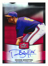 2012 LEAF METAL RICHIE SHAFFER RC RED REFRACTOR AUTO AUTOGRAPH INDIANS #1/5 1/1!
