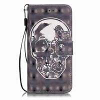 Shockproof PU Leather Magnetic Flip Wallet Stand Cover Case For iPhone 6S 7 Plus