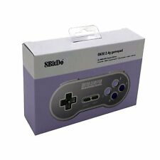 8Bitdo SN30 2.4G Wireless Controller Gamepad with Receiver SNES and SFC Classic
