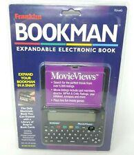 Franklin Bookman MovieViews Flx-440 Expandable Electronic Book New W/ Shelf Wear