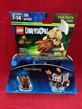 LEGO DIMENSIONS LORD OF THE RINGS GIMLI FUN PACK #71220 NEW in Box SEALED
